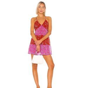 BCBG Colorblock mini dress 6 from Revolve